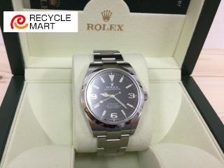 ロレックス エクスプローラー1 時計買取価格